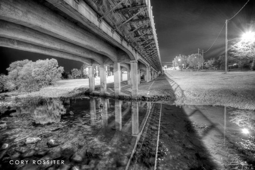 The Canarvon bridge