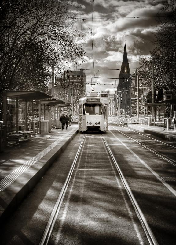 melbourne, tram,